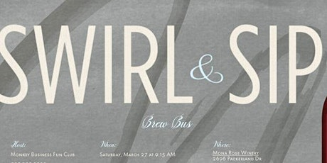 Swirl & Sip Brew Bus tickets