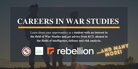 Careers in War Studies: Resilience, Work Experience and Mental Health tickets