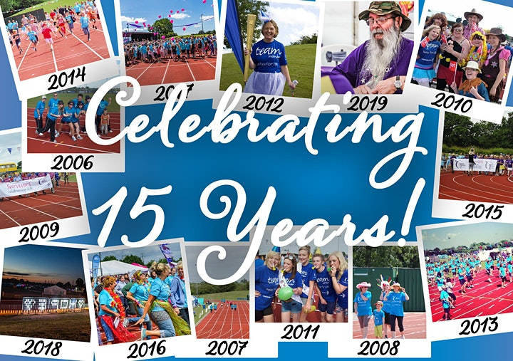 Celebrating 15 Years of Yate Relay For Life! image