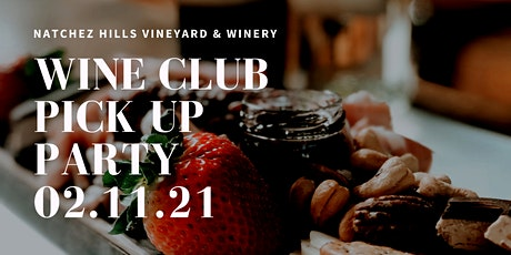 FEB 21 Wine Club Pick Up Party at the Market tickets