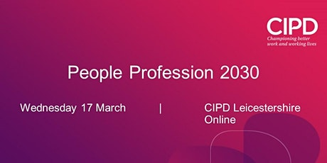 People Profession 2030 tickets