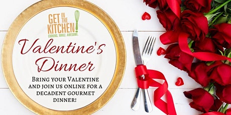 Valentine's Day 3 Course Dinner & Cocktail Party with Chef Alissia Trent! tickets