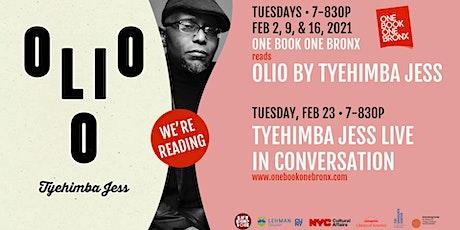 One Book One Bronx: Olio by Tyehimba Jess tickets