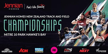Jennian Homes New Zealand Track & Field Championships 2021 tickets