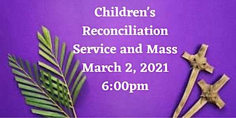 Children's Reconciliation Service boletos