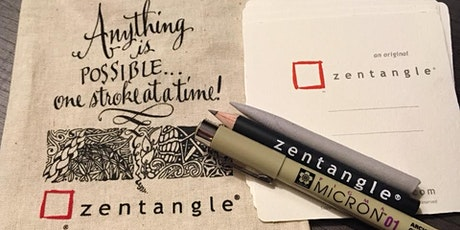 Introduction to the Zentangle Method of Drawing tickets