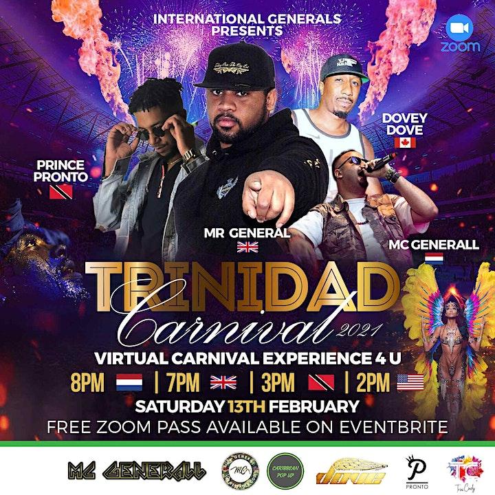 TRINIDAD CARNIVAL 2021 - VIRTUAL CARNIVAL EXPERIENCE 4 U image