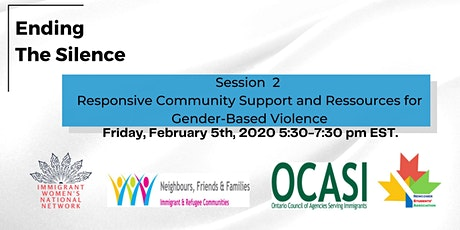 Ending The Silence: Community Support + Resources for Gender-Based Violence tickets