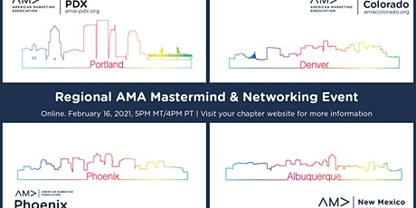 Mastermind & Network With Your AMA Peers in AZ, CO, NM, and OR tickets