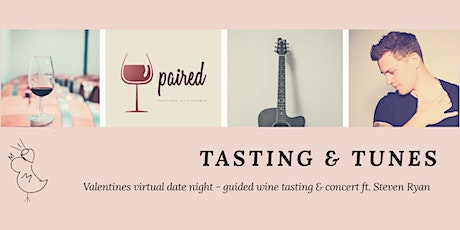 Tasting & Tunes - Valentines Virtual Date Night tickets