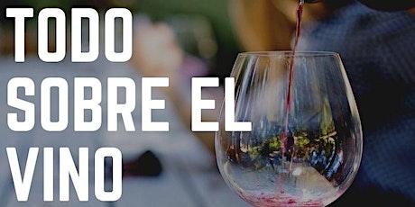 Todo sobre el Vino, con vinos. Cata presencial. entradas