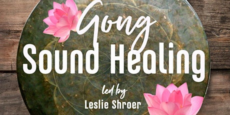 Gong Sound Healing In-Store & FB LIVE tickets