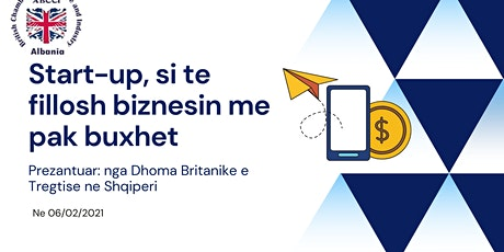 Tranim per Start-up.  Si te fillosh biznesin me pak buxhet? tickets