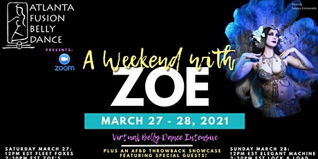 A Weekend with Zoe Jakes! Belly Dance Intensive tickets