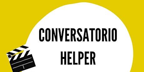 1er encuentro del #ConversatorioHelper  entradas