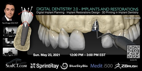 Digital Dentistry 2.0 Implants and Restorations tickets