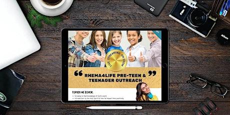 Teen & Pre-Teen Motivation Outreach tickets