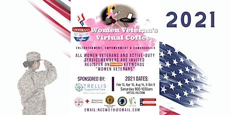 Women Veteran's Virtual Coffee 2021 tickets