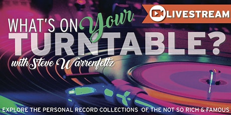 What's on your Turntable? LIVESTREAM from The Venue tickets