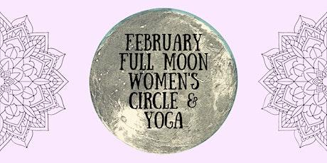 Full Moon Women's Circle & Yin Yoga tickets