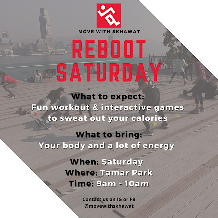 ReBoot Saturday image