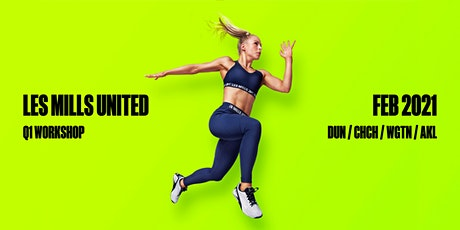 AUCKLAND - LES MILLS UNITED Q1 WORKSHOP 2021 tickets