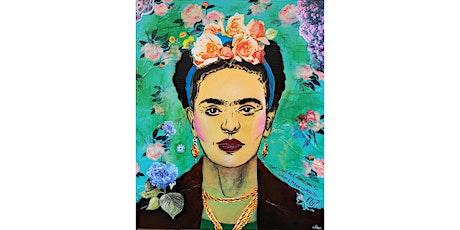 Pop Art Stencil Portraits -  Frida Kahlo tickets