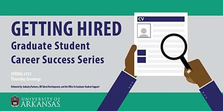 Investing in Your Future: Graduate Student Career Success Series tickets