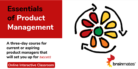 Brainmates Essentials of Product Management - Remote Realtime Classroom tickets