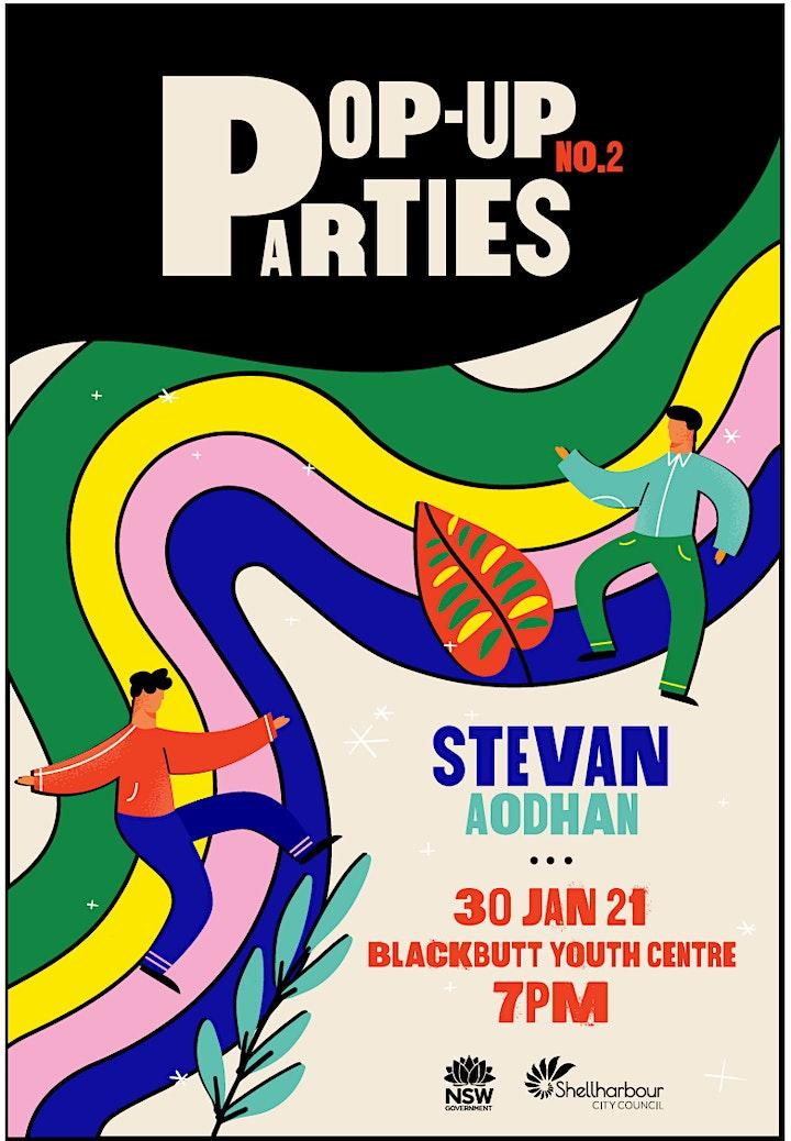 Pop Up Parties X Evolve Crew image