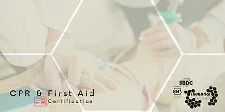 Industry Certification: CPR & First Aid Certification tickets