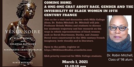 Coming Home:  Black Women in 19th Century France (BHM21) tickets