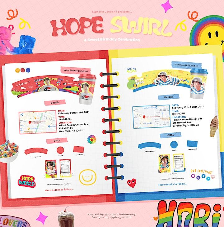 Hope Swirl: A Sweet J-Hope Birthday Celebration (Jersey City, NJ) image