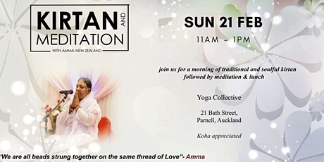 Kirtan & Meditation tickets