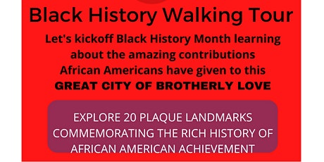 Black History Walking Tour tickets