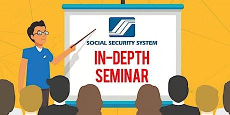 SSS ONLINE In-Depth Information Seminar tickets