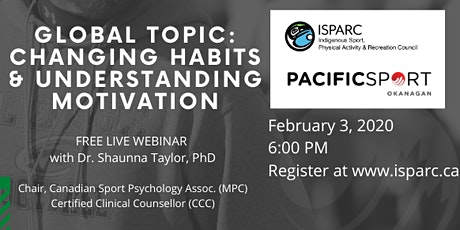 Global Topic: Changing Habits & Understanding Motivation tickets