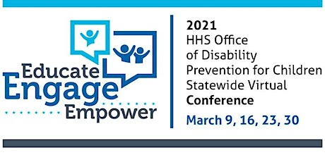 2021 HHS Office of Disability Prevention for Children Virtual Conference tickets