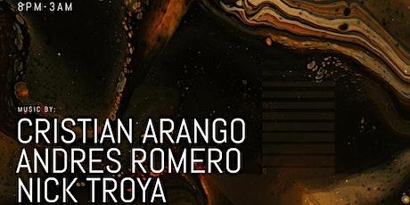 THE GET DOWN PRESENTS CRISTIAN ARANGO  - Andres Romero - Nick Troya tickets