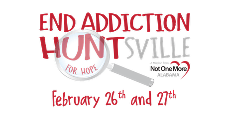 End Addiction HUNTsville - Scavenger Hunt tickets