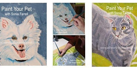 'Paint Your Pet' Session 1 of 2 with Sonia Farrell: Creative Hearts Art tickets