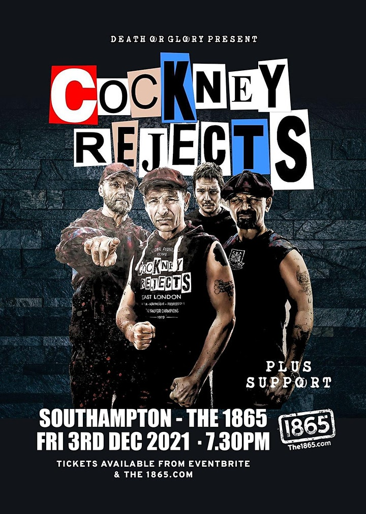 Cockney Rejects Live at 1865 Southampton 1865 image