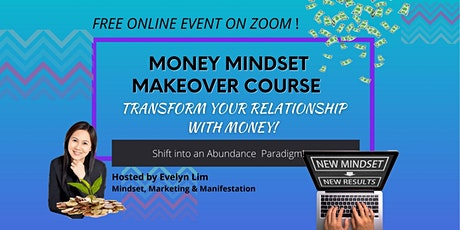 Money Mindset Makeover Course and Challenge tickets