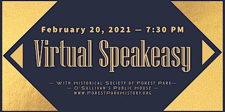 Virtual Speakeasy with O'Sullivan's Public House tickets