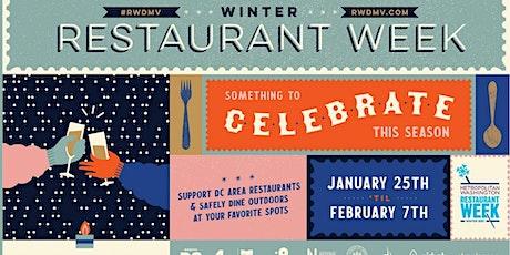 DC Winter Restaurant Week 2021 tickets