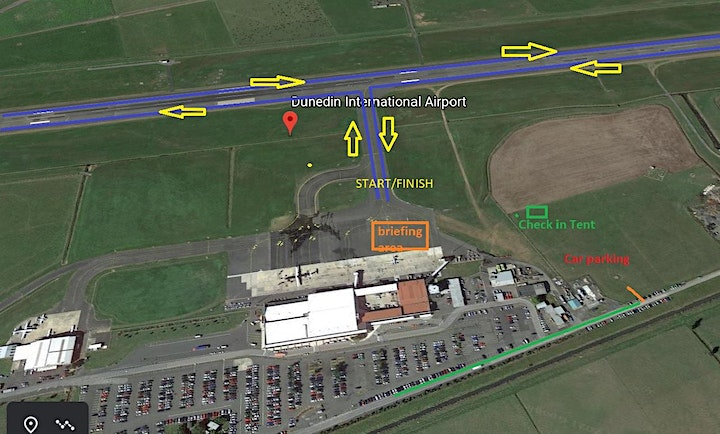 Run the runway Dunedin Airport image
