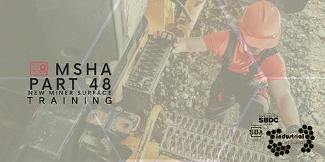 Industry Certification: MSHA Part 48 New Miner Surface Training tickets