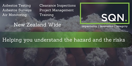 Asbestos Awareness Course - In Person Public Course Auckland tickets