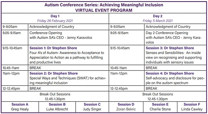 Autism Conference Series: Achieving Meaningful Inclusion image