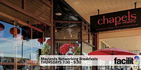 Facilit8 Networking Breakfasts 2021 - Maylands Group tickets
